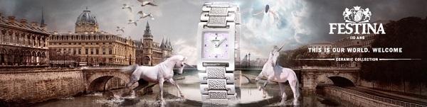 bannière montres Festina